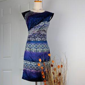 The Limited Midi Blue Dress Sz 2